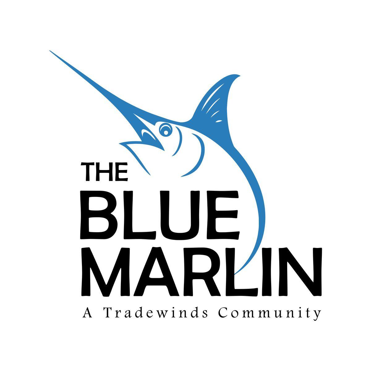 Blue Marlin Pedasi Logo